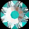 Swarovski 2088 XIRIUS Rose Flat Back Crystal Laguna DeLite SS30