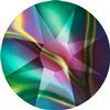 Swarovski 2088 XIRIUS Rose Flat Back Crystal Rainbow Dark SS34