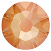 Swarovski 2088 XIRIUS Rose Flat Back Crystal Electric Orange DeLite ss12