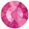 Swarovski 2088 XIRIUS Rose Flat Back Crystal Electric Pink DeLite ss30