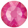 Swarovski 2088 XIRIUS Rose Flat Back Crystal Electric Pink DeLite ss12