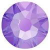 Swarovski 2088 XIRIUS Rose Flat Back Crystal Electric Violet DeLite ss12