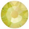 Swarovski 2088 XIRIUS Rose Flat Back Crystal Electric Yellow DeLite ss30