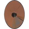Swarovski 2102 Vintage Rivoli Oval Flat Back Crystal Tabac 18x13mm