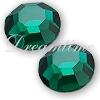 Preciosa Rhinestones Flatback MC Chaton Rose (8 Facets) 12ss Emerald