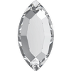 Swarovski 2200 Navette Flat Back Crystal 8x4mm