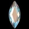 Swarovski 2201 Marquise (Navette) Flat Back Silk Shimmer 14x6mm