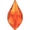 Swarovski 2205 Flame Flat Back Fireopal 10mm