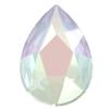 Swarovski 2303 Pear Flat Back Crystal AB 14x9mm