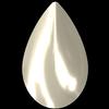 Swarovski 2308/4 Cabochon Drop Crystal Creampearl 8x5mm