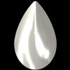 Swarovski 2308/4 Cabochon Drop Crystal White 8x5mm