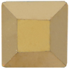 Swarovski 2400 Square Flat Back Crystal Aurum 2.2mm