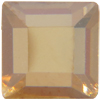 Swarovski 2400 Square Hotfix Crystal Golden Shadow 4mm