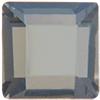 Swarovski 2400 Square Flat Back Crystal Silver Night DT Light 4mm