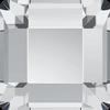 Swarovski 2400 Square Flat Back Crystal 3mm