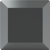 Swarovski 2402 Base Flat Back Jet Hematite 4mm