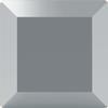 Swarovski 2402 Base Flat Back Crystal Light Chrome 4mm