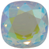 Swarovski 2470 Cushion Cut Square Flat Back Crystal AB 18mm