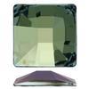 Swarovski 2483 Classic Square Flat Back Crystal Sage V 25mm