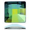 Swarovski 2483 Classic Square Flat Back Crystal Sahara V 25mm