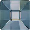 Swarovski 2483 Classic Square Hotfix Crystal Blue Shade 10mm