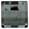 Swarovski 2493 Chessboard Flat Back Black Diamond 8mm