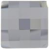 Swarovski 2493 Chessboard Flat Back Crystal Comet Argent Light 20mm