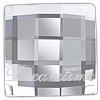 Swarovski 2493 Chessboard Flat Back Crystal 12mm