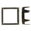12mm Engraved Square Rim Sets