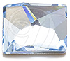 Swarovski 2520 Cosmic Flat Back Aquamarine 14x10mm