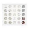 Swarovski Crystals Nail Art Starter Kit - Tray with 25 Jars