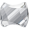 Swarovski 2540 Curvy Flat Back Crystal 9x7mm