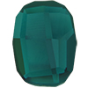 Swarovski 2585 Graphic Flat Back Emerald 10mm