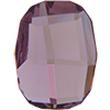 Swarovski 2585 Graphic Flat Back Light Amethyst 10mm