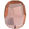 Swarovski 2585 Graphic Flat Back Rose Peach 14mm