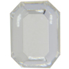 Swarovski 2610/2 Emerald Cut Octagon Hotfix (Table Cut) Crystal 6x4mm