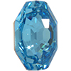 Swarovski 2611 Solaris Flat Back Aquamarine 10mm