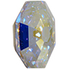 Swarovski 2611 Solaris Flat Back Crystal AB 10mm