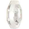 Swarovski 2611G Solaris Flat Back (Partly Frosted) Crystal 10mm
