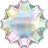 Swarovski 2612 Jelly Fish Flat Back Crystal AB 10mm