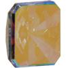 Swarovski 2650 Vintage Square Flat Back Crystal AB 8mm