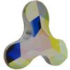 Swarovski 2708 Molecule Flat Back Crystal AB 12.5x13.6mm