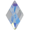 Swarovski 2709 Rhombus Flat Back Crystal AB (Unfoiled) 10x6mm
