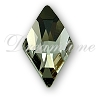 Swarovski 2709 Rhombus Flat Back Black Diamond 10x6mm