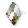 Swarovski 2709 Rhombus Flat Back Crystal Golden Shadow 10x6mm