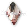 Swarovski 2709 Rhombus Flat Back Light Rose 13x8mm