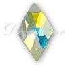 Swarovski 2709 Rhombus Flat Back Crystal AB 10x6mm