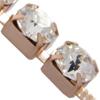 Swarovski 27104 Rhinestone Chain ss29 Crystal/Gold Plated