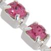 Swarovski 27104 Rhinestone Chain pp14 Rose/Sterling Silver
