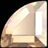 Swarovski 2715 Connector Hotfix Stones Crystal Golden Shadow 3mm